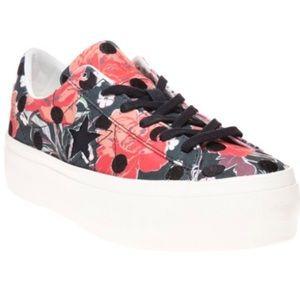 Converse platform floral polka dot 11 new